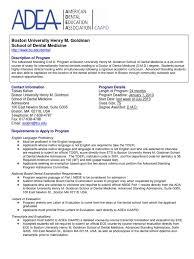 boston university dental degree university and college admission