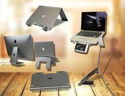Laptop Cradle Desk by Diizign Foldable Laptop Stand Gadget Flow