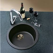 Black Round Kitchen Sink  Befon For - Round sinks kitchen