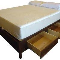 furniture brown lacquer maple wood king bed frame with double