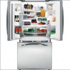 Refrigerator With French Doors And Bottom Freezer - ge profile bottom freezer french door refrigerator pfss2mjx