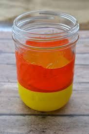Mason Jars Halloween by Diy Candy Corn Mason Jars Easy Fall Or Halloween Craft