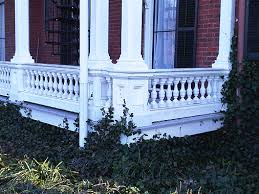 Front Porch Banisters Custom Restorations Of Home Porches Railings And Furniture
