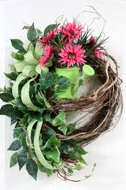 wreath for front door fall door wreaths autumn decorative front for spring and summer