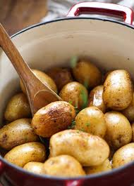oven herbed potatoes no peel no boil no bake