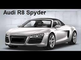 how to pronounce audi how to pronounce audi r8 spyder
