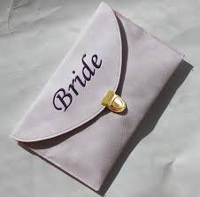 wedding gift envelope monogrammed clutch envelope purse envelope clutch gift