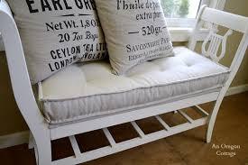 diy tufted french mattress cushion ballard catalog knockoff
