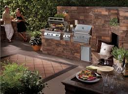 Outdoor Kitchen Cabinet Kits Kitchen Impressive Outside Kitchen Ideas Outdoor Kitchen