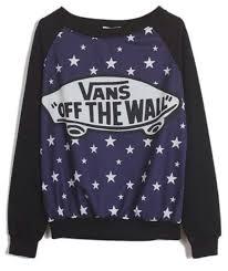 vans sweater sweater vans vans black wheretoget
