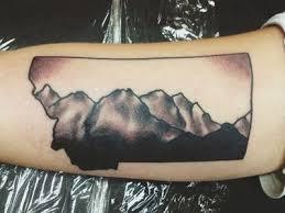 best 25 montana tattoo ideas on pinterest mountain outline