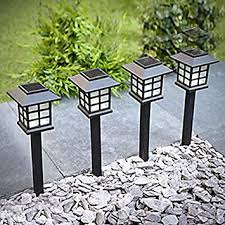 Solar Lights For Backyard Amazon Com Sogrand 8pcs Pack Solar Lights Outdoor Solar Light
