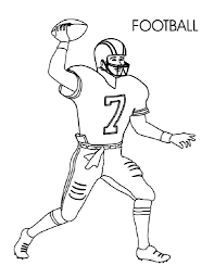 football coloring pages for preschoolers activity shelter