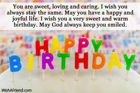 you are sweet loving and caring boyfriend birthday message