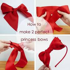 how to make girl bows how to make 2 princess bows craft me happy how to make