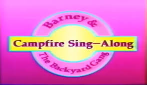 Barney Three Wishes Vhs 1989 by Barney And The Backyard Gang Campfire Sing Along 1990 Youtube