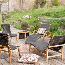 Teak And Recycled Rubber Outdoor Furniture Collection VivaTerra - Recycled outdoor furniture