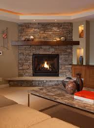 awesome corner gas fireplace design ideas images interior design