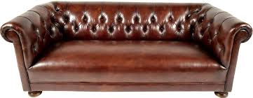 distressed leather chesterfield sofa vintage chesterfield leather sofa chairish