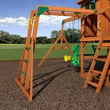 springboro wooden swing set playsets backyard discovery