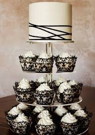 black and white wedding cakes black and white wedding tulle chantilly wedding