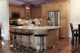 mocha with dark glaze kitchen