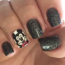 disney u0027s mickeys not so scary halloween nail art design nail art