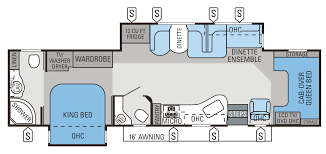 rv class c floor plans 2014 seneca floorplans u0026 prices jayco inc
