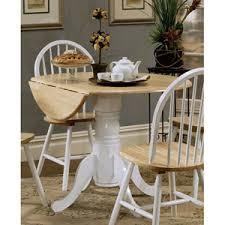 Drop Leaf Pedestal Table Pedestal Butterfly Leaf Dining Table Bellacor