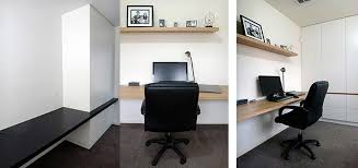 Home Office Fitout  Design Melbourne Spaceworks - Office design home