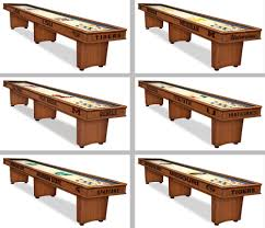 choose your ncaa l m team 9 12 or 16 u0027 engraved wood shuffleboard