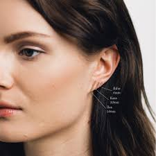 bar stud earrings wire bar stud earrings gldn