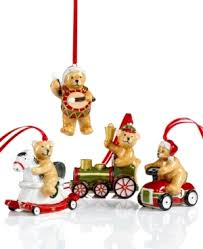 villeroy boch ornaments set of 4 teddy bears jpg 300