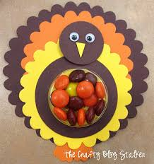 how to make paper turkey treats thanksgiving crafty and