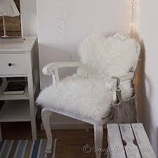 ikea hack diy wingback rocking chair ikea decora five minute reupholstering with faux fur room diy furniture and