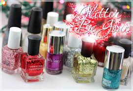 remove glitter nail polishes quicker with this little trick