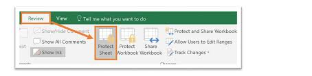 excel 365 how to protect cells in a shared worksheet