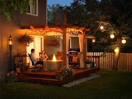 37 brilliant backyard lighting ideas