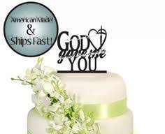 christian wedding cake toppers foundations the greatest gift is cross wedding cake