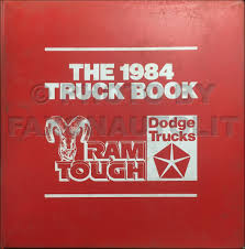 1984 dodge ram 50 truck repair shop manual original