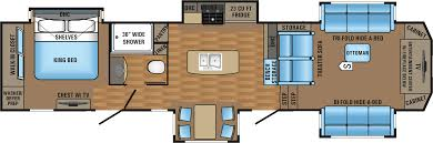 Rv Floor Plans by 5th Wheel Floor Plans U2013 Gurus Floor