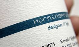 Premium Business Cards Embossed Order Professional Business Cards Morningprint