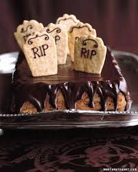 halloween cemetery cakes halloween recipes for throwing the ultimate party chowhound