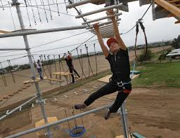 obstacle course tower opens in mission local news themonitor com