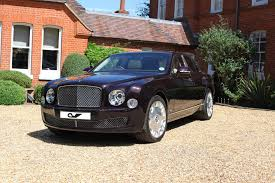 bentley mulsanne blacked out creighton ward