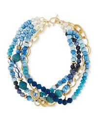 multi strand necklace images Akola twisted multi strand necklace blue 22 quot neiman marcus jpg