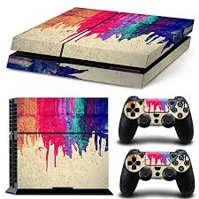 how to change the color of ps4 controller light friendlytomato ps4 console and dualshock 4 controller skin set paint