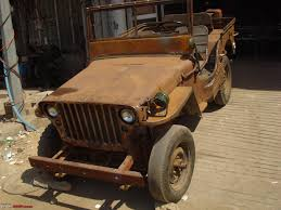 vintage jeep restoration of a lhd willys jeep team bhp