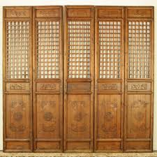 chinese room divider furniture gorgeous picture of flowery japanese 4 panel accordion