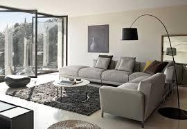 Dark Rug Living Room Grey Fabric L Sofa Grey Sofa Dark Brown Rug White